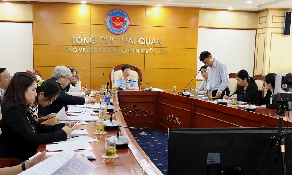 Phó Tổng cục trưởng Lưu Mạnh Tưởng chủ trì hội nghị. Ảnh: HN