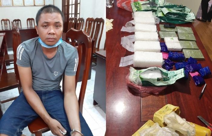 Cảnh sát biển phối hợp bắt giữ đối tượng tàng trữ, vận chuyển gần 30 kg ma túy