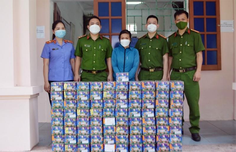 Nghệ An: Triệt phá đường dây mua bán, tích trữ pháo nổ