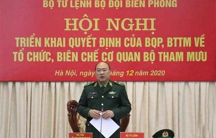 Thiếu tướng Lê Quang Đạo được điều động, bổ nhiệm giữ chức Tư lệnh Cảnh sát biển Việt Nam