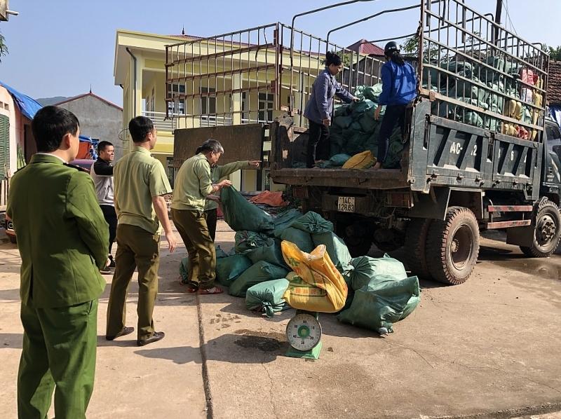 LạngSơn: Liên tiếp bắt các vụ vận chuyển thực phẩm bẩn