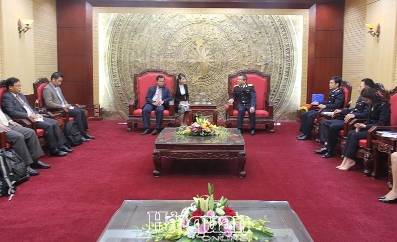 Hải quan Việt - Lào chia sẻ kinh nghiệm chống buôn lậu động vật hoang dã