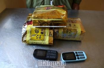 BiênphòngNghệAn thu giữ3kg ma túy đá