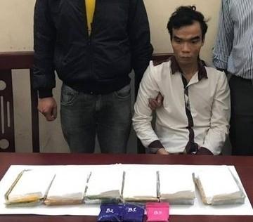 Nghệ An: Tạm giữ đối tượng vận chuyển 6 bánh heroin