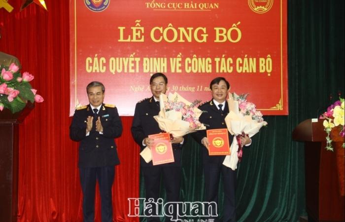 Hải quan Nghệ An có thêm hai phó cục trưởng mới
