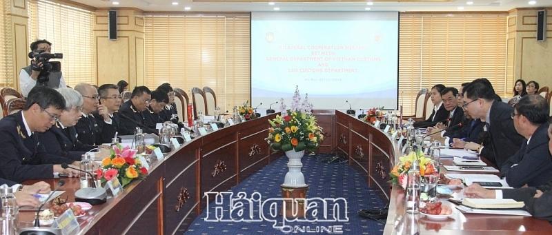 Hải quan Việt - Lào tiếp tục vun đắp tình hữu nghị