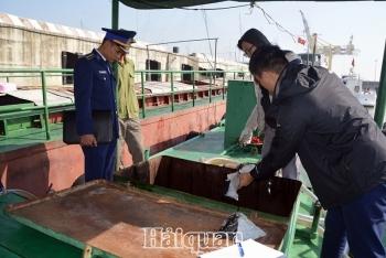 Cảnh sát biểntạm giữ 20.000 lít dầu FO không rõ nguồn gốc
