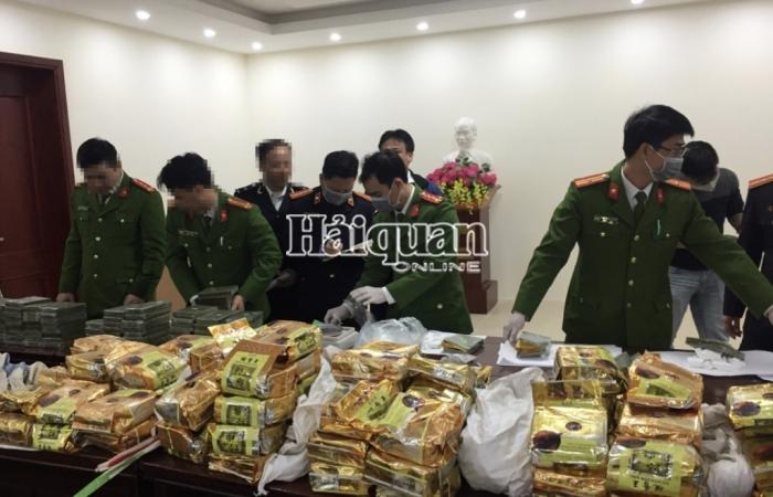 Hải quan Nghệ An đồng chủ trì phá chuyên án thu giữ trên 240 kg ma tuý