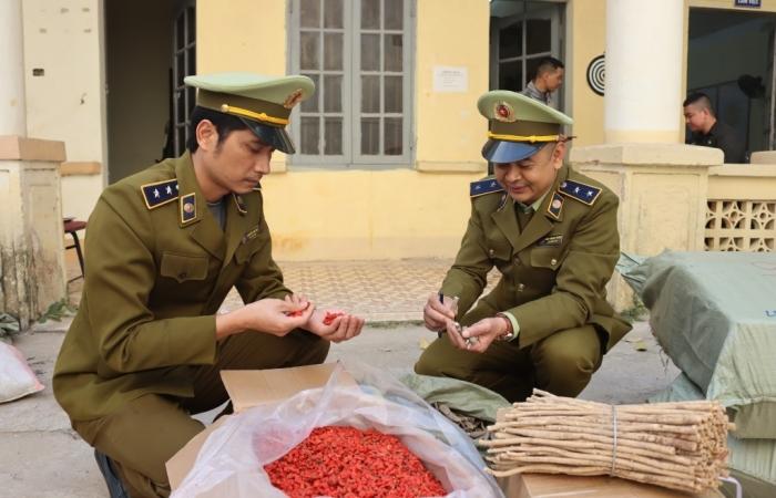 Thu giữ hơn 1 tấn nguyên liệu thuốc bắc nhập lậu