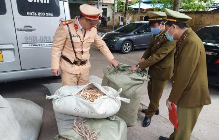 Lạng Sơn: Thu giữ gần 1 tấn nguyên liệu thuốc bắc không rõ nguồn gốc