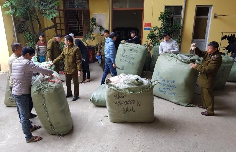 Lạng Sơn: Gần Tết, hàng lậu gia tăng