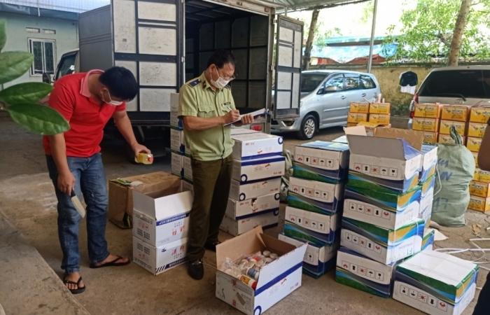 Thu giữ 12.300 sản phẩm thuốc bảo vệ thực vật nhập lậu