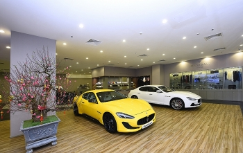 Maserati giới thiệu Khu trưng bày tại Trung tâm thương mại Vincom Metropolis