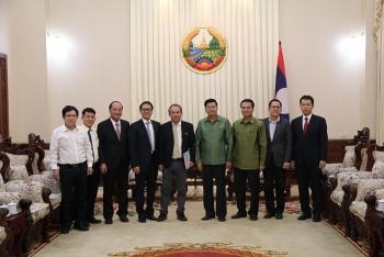 Thủ tướng Lào tiếp ban lãnh đạo Thaco và Hoàng Anh Gia Lai