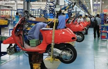Thị trường xe máy giảm sút mạnh