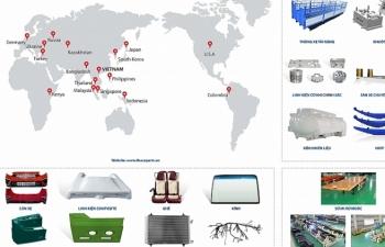 Năm 2019 THACO sẽ  xuất khẩu 15 triệu USD linh kiện phụ tùng