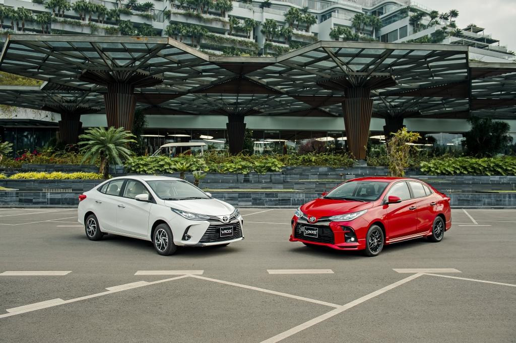 Toyota Vios 2021 xuất hiện với nhiều bất ngờ