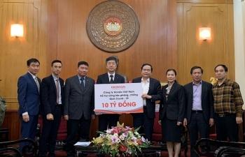 Honda Việt Nam ủng hộ 10 tỷ đồng cùng Chính phủ phòng chống dịch Covid-19 tại Việt Nam