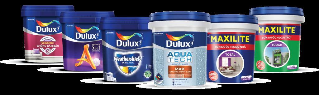 Sơn Maxilite và Dulux ra mắt loạt sản phẩm mới