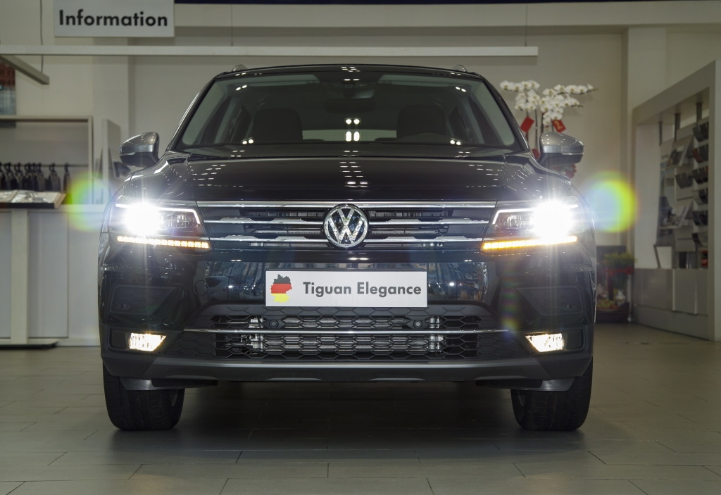 Volkswagen tặng Gói phụ kiện lên đến 100 triệu cho Tiguan Elegance