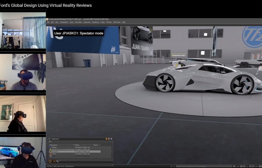 Ford duy trì hoạt động hiệu quả khi làm việc tại nhà nhờ công nghệ thực tế ảo