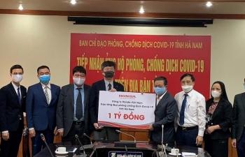 Honda Việt Nam ủng hộ nhiều tỷ đồng phòng chống Covid-19