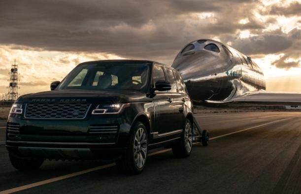 Land Rover gia hạn hợp tác toàn cầu với Virgin Galactic