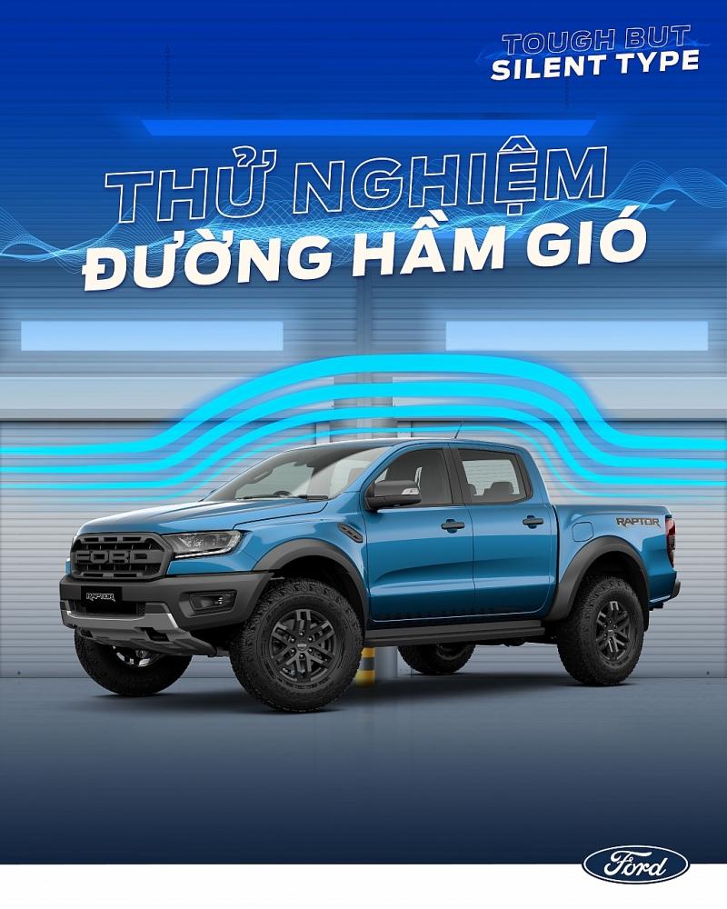 Vì sao Ford Ranger Raptor dễ dàng chinh phục mọi địa hình mà vẫn tạo thoải mái cho hành khách