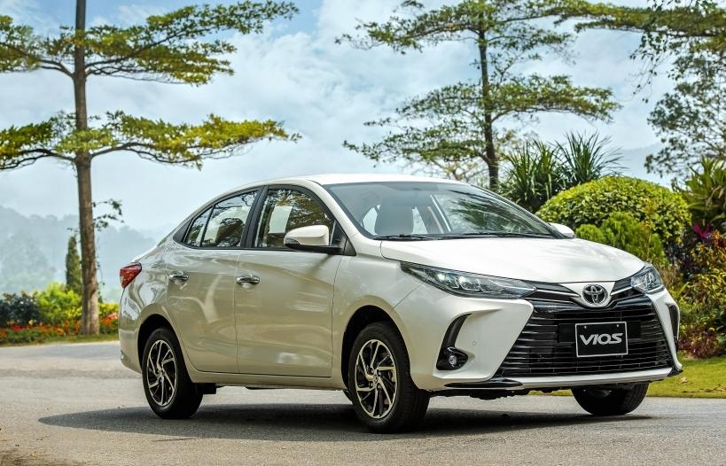 Toyota tặng 1 năm bảo hiểm vật chất cho khách hàng mua xe Vios 2021