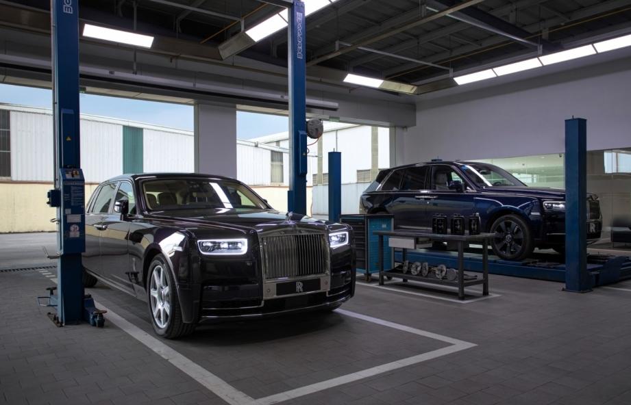 Rolls-Royce Motor Cars đã có cơ sở dịch vụ tại Hà Nội