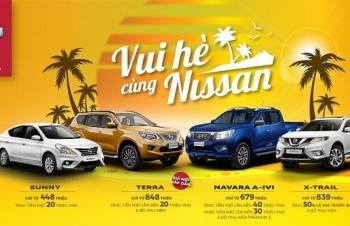 Nissan ưu đãi cho khách mua xe trong tháng 5