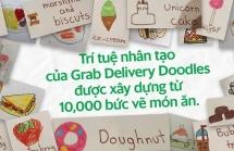 grab ra mat delivery doodles