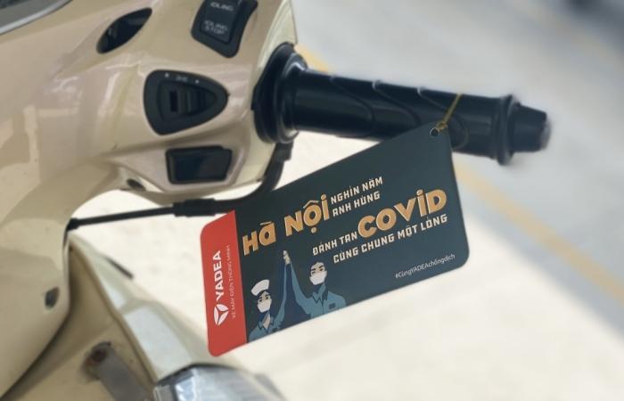 """Khuyến khích """"cất xe hạn chế ra đường"""" - hãng xe YADEA truyền tải thông điệp ý nghĩa mùa Covid"""