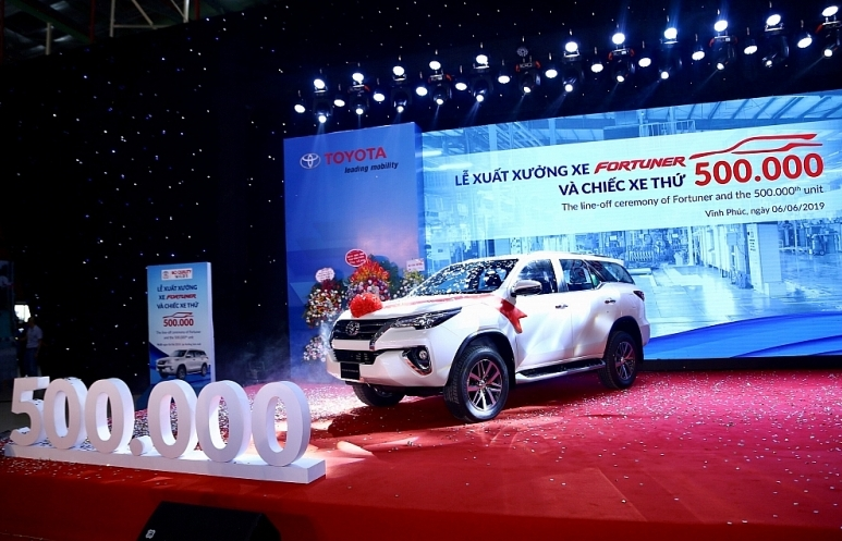 Nửa triệu xe Toyota đã được sản xuất tại Việt Nam