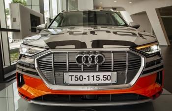 Audi e-tron xuất hiện tại Việt Nam