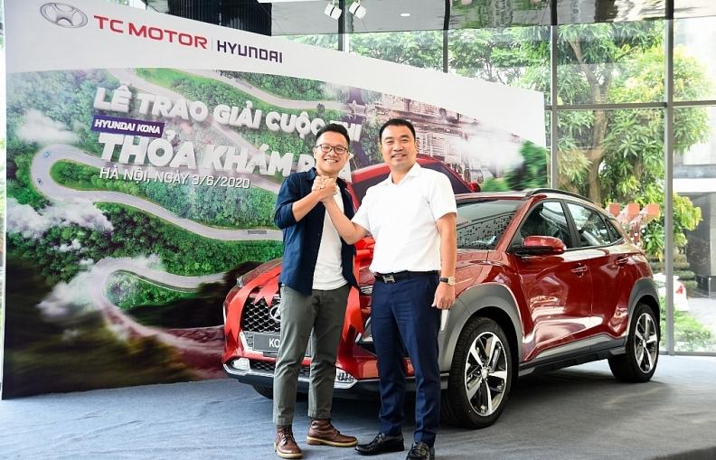 """Cuộc thi """"KONA - Thỏa khám phá"""" đã tìm ra chủ nhân nhận giải là chiếc Hyundai KONA"""