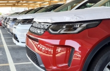 jaguar xe va land rover discovery sport xuat hien cuoi thang 6