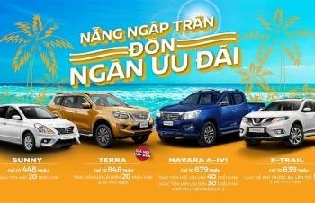 Tháng 6, Nissan Việt Nam tiếp tục khuyến mại