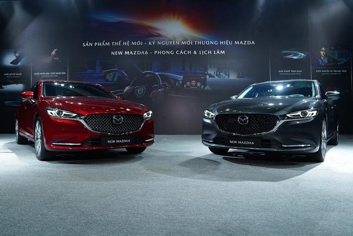 Mazda 6 2020 chính thức ra mắt, chưa chốt giá