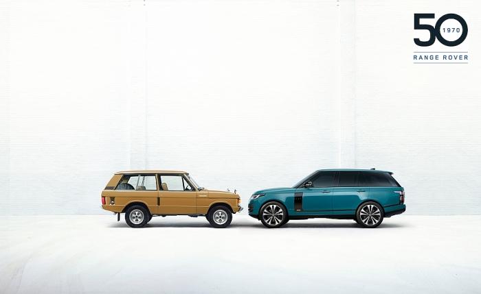 Range Rover Fifty-phiên bản đặc biệt giới hạn nhân kỷ niệm 50 năm Range Rover