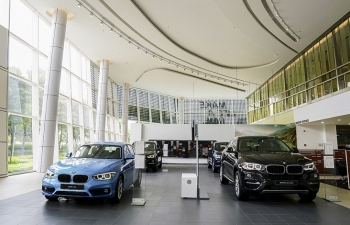 THACO khai trương tổ hợp showroom 3 thương hiệu BMW-MINI-BMW MOTORRAD.