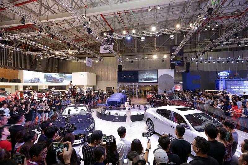 14 hang xe tham gia vietnam motor show 2019