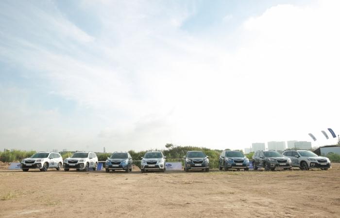 Subaru Ultimate Test Drive: Thách thức giới hạn