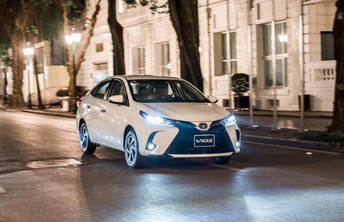 Toyota Việt Nam hỗ trợ lệ phí trước bạ cho Vios