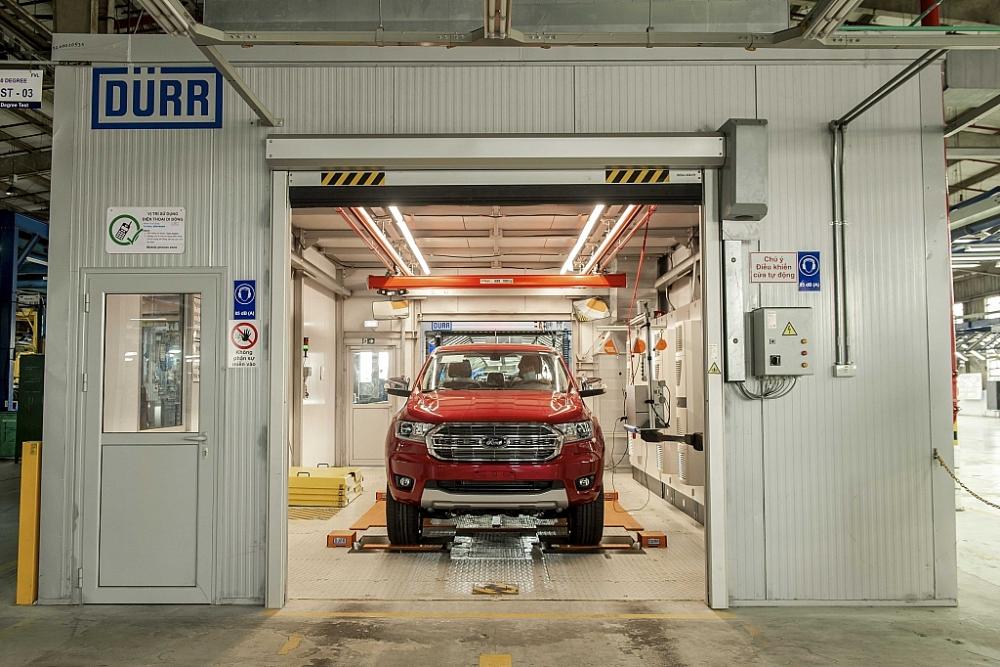 Khám phá nhà máy sản xuất ô tô hiện đại của Ford tại Việt Nam