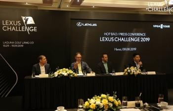 Lần đầu tiên Lexus Việt Nam đồng hành Giải Lexus Challenge 2019
