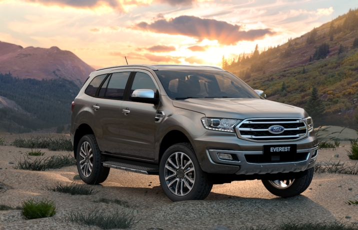 Ford Everest dẫn đầu doanh số phân khúc SUV