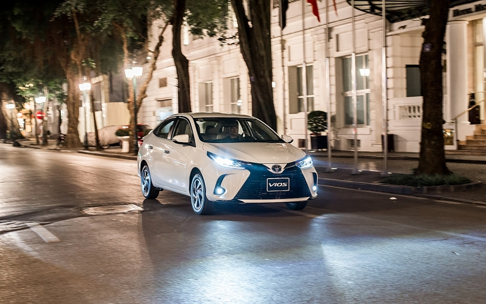 Toyota Việt Nam hỗ trợ lệ phí trước bạ Vios trong tháng 8