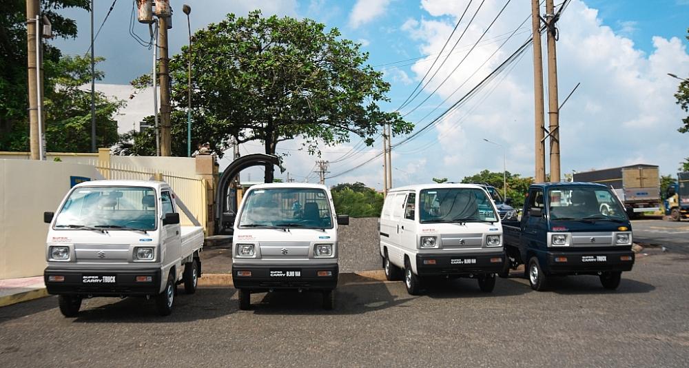 SUZUKI tặng 4 xe thương mại hỗ trợ Đồng Nai phòng chống đại dịch Covid