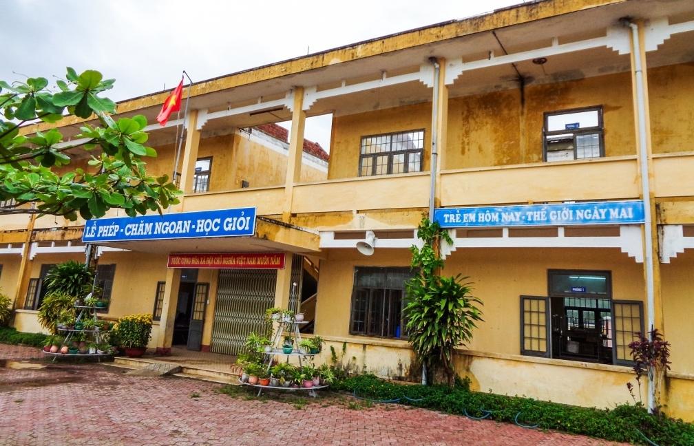 GE Foundation hỗ trợ 73.000 USD khắc phục hậu quả thiên tai cho trường học ở tỉnh Quảng Ngãi